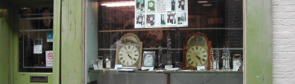 Bracket and Mantel Clocks.